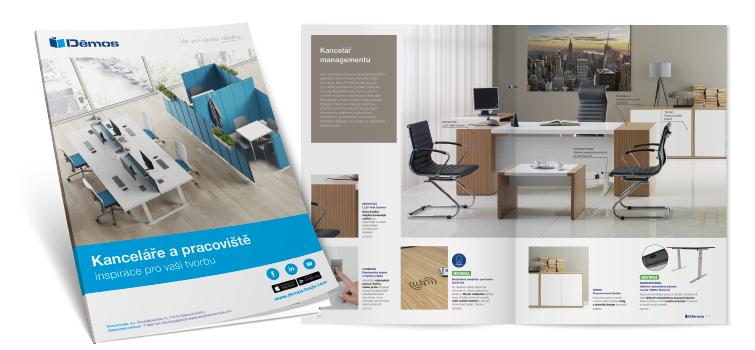 Brožura kanceláře a pracoviště