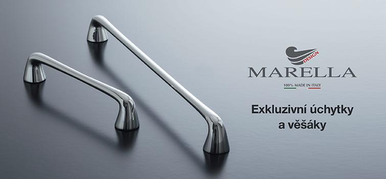 Brožura úchytek a věšáků Marella Design