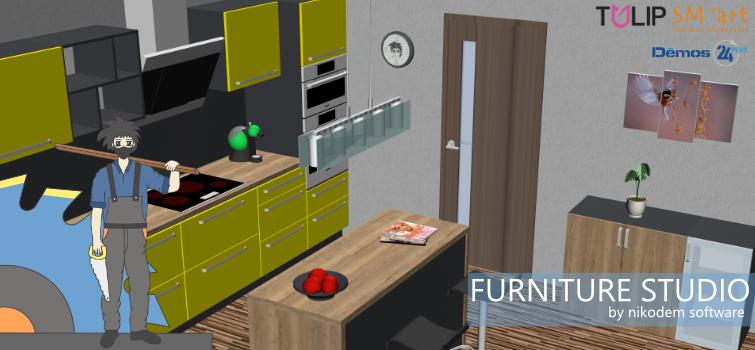 Naše produkty vprogramu Furniture Studio