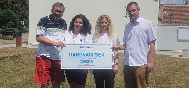 Pomohli jsme obci Lužice