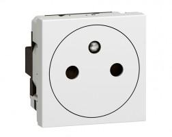 LEGRAND Pop-up díl zásuvka bílá 77132 surface, 2 moduly