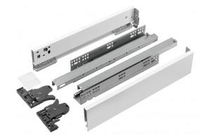 StrongMax 89/500 mm bílý se samostatnými úchyty