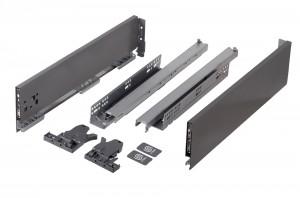 StrongMax 121/300 mm šedý (antracit) se samostatnými úchyty