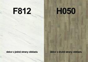 Zástěna F812 ST9/H050 ST9 4100/640/9,2