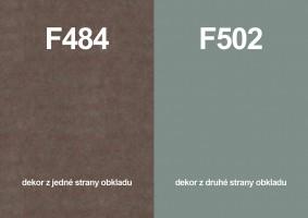 Zástěna F484 ST87/F502 ST2 4100/640/9,2