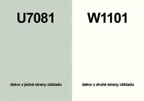 Zástěna U7081 ST76/W1101 ST76 4100/640/9,2