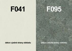 Zástěna F041 ST15/F095 ST87 4100/640/9,2