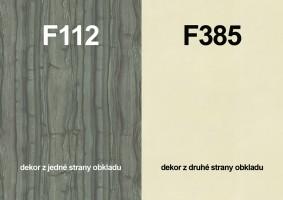 Zástěna F112 ST9/F385  ST10 4100/640/9,2