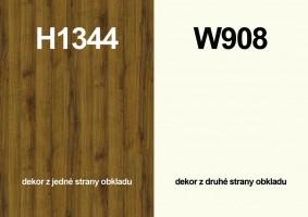 Zástěna H1344 ST32/W908 ST37 4100/640/9,2