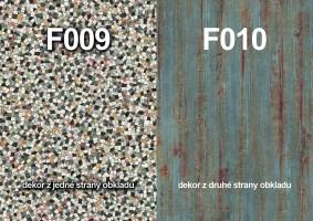 Zástěna F009 ST9/F010 ST9 4100/640/9,2