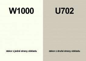 Zástěna W1000 ST76/U702 ST89 4100/640/9,2
