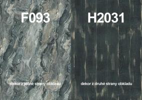 Zástěna F093 ST15/H2031 ST10 4100/640/9,2
