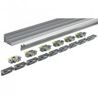 HETTICH 9278657 TopLine XL new sada vodících profilů 4000 mm