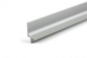 TULIP Úchytka Fano narážecí profil 2450mm hliník