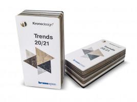 KRONOSPAN vzorník Trends 20/21 - vějíř