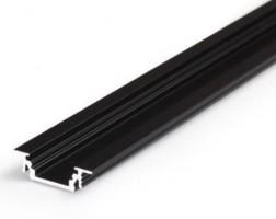 TM-profil LED Groove alu černý 4000mm