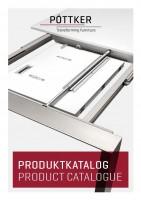 Poettker katalog stolových výsuvů DE+ENG