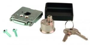 Zámek nábytkový 462 klíč FAB nikl, různé kombinace klíčů