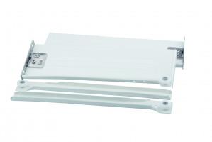 STRONG výsuv s bočnicí H86/350 bílý s hmoždinkou