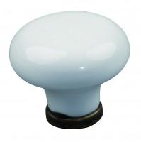 TULIP knop Stela staromosaz/porcelán béžový