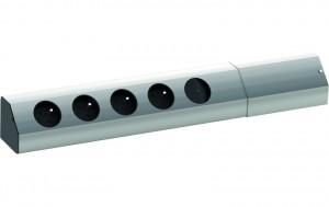 BACHMANN Casia 923.011, 4x230V vypínač aluminium