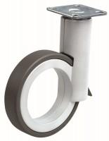 OGTM Kolečko Rotola 90 mm, hliník, guma šedá