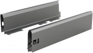 HETTICH 9121309 ArciTech bok 550/126 mm antracit L