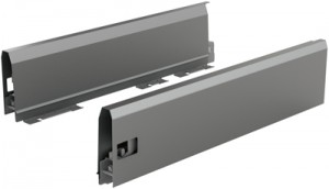 HETTICH 9121307 ArciTech bok 500/126 mm antracit L