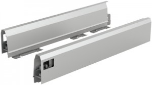 HETTICH 9121201 ArciTech bok 350/94 mm stříbrný L