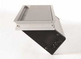 VersaFlap 4+0 s průchodkou 320x120 mm
