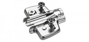 HETTICH 9071662 montážní podložka s rozpěrnými pouzdry D=3.0 mm
