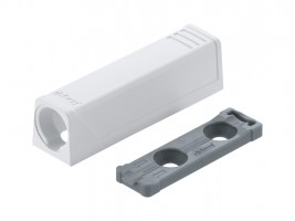 BLUM 956.1201 Tip-on přímý adaptér, 50mm, bílý