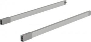 HETTICH 9150647 ArciTech sada relingů 270 mm, stříbrná L+P