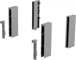 HETTICH 9122978 ArciTech DesignSide adapter/124 mm stříbrný