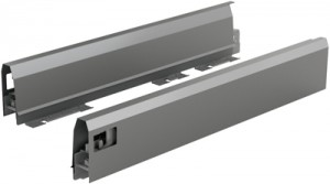 HETTICH 9121287 ArciTech bok 94/400 mm antracit L