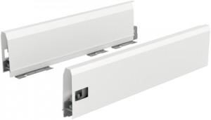 HETTICH 9121259 ArciTech bok 126/350 mm bílý L
