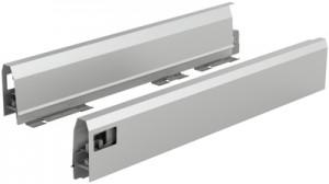 HETTICH 9121204 ArciTech bok 94/400 mm stříbrný P