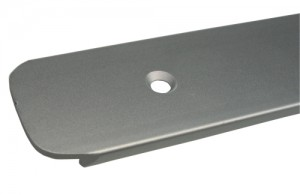Ukončovací lišta na pracovní desku 38mm 300/3 pravá