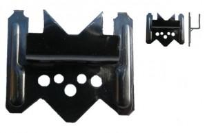 Palubky spona č.6 (mm) ThermoWood UTV/PanelS, A2 200ks