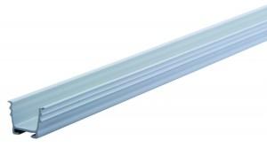 REHAU vodicí lišta 12 mm na zafrézování šedá