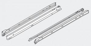 BLUM 230M4500 částečný výsuv 450mm R901 bílý