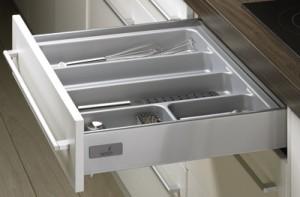 HETTICH 44933 OrgaTray 500, 201-250/470-520 mm stříbrný