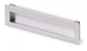 HETTICH 9071071 Úchytka NIDUM L143/128 eloxovaný hliník