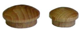Záslepka - víčko s čepem 10mm buk