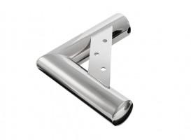 Nožka nábytková rohová NN24 35/220x200 mm chrom lesklý